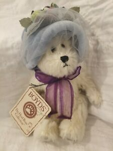 Boyds Bears *Deborah Sue Bearington*, Mohair Bear #93470V, QVC Ltd#267/2400, NWT