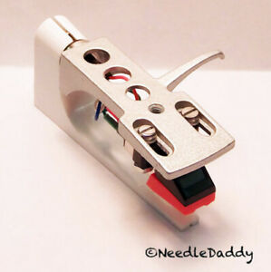 Silver Headshell Cartridge & Stylus For DJ Turntable Numark Ion Stanton Technics