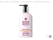 Molton Brown Patchouli & Saffron Nourishing Body Lotion 300ml