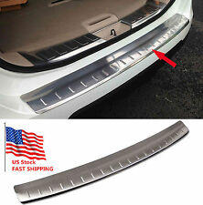 Stainless Steel Rear Bumper Protector Plate Cover For Nissan X-Trail Rogue 14-15