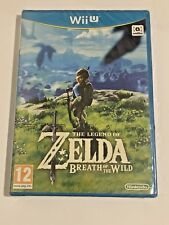The Legend of Zelda: Breath of the Wild - Nintendo Wii U NEW SEALED *FREE POST*