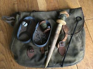 OLD FISHING ITEMS, AS SEEN.