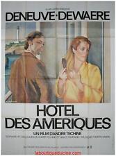 HOTEL DES AMERIQUES Affiche Cinéma 160x120 Movie Poster Patrick Dewaere