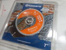 "Husqvarna 542761412 TSD-S Dri-Disc 7"" Diamond Blade Masonry Brick Stone Concrete"