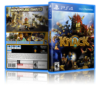 Knack - ReplacementPS4 Cover and Case. NO GAME!!