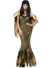 Costume Halloween Carnevale Donna Cleopatra Horror *18651 Egiziana