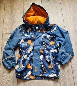 Boys Lupilu Raincoat Jacket Size 4-5 Years