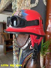 Chopper Helm Gr.M  Indianer Motiv Helme Bulzeye CASCO HELMET CASQUE BIKER Size.M