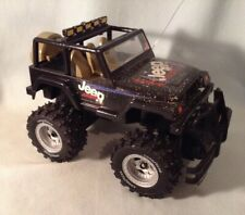 Vintage Nikko  MONSTER JEEP Black Nice Condition  With Battery Pack.  NO Remote
