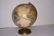 Vintage Replogle 12 inch World Class Topographical Table Top Globe