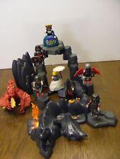 Playmobil , Drachenfels , 2 Drachen , Prinzessin und Ritter