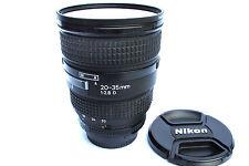 NIKON AF Nikkor 20-35 mm 2.8 D Zoomobjektiv  mit HB-8 + Heliopan UV