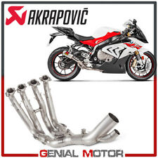 Stainless Steel Optional Header Akrapovic for BMW Exhaust S1000RR 2017 > 2018