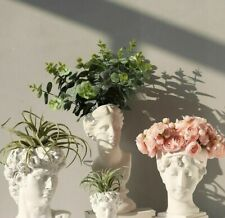 Home Decorative Modern And Nordic Styles Human Head Portrait Flower Plants Vases