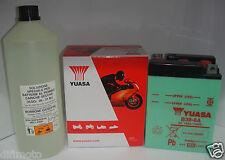 BATTERIE YUASA B38-6A 6V 14Ah C/ACIDE BSA Or Star 500