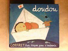 COFFRET 3 CD JEUNESSE / DOUDOU, 3 DISQUES POUR S'ENDORMIR / TRES BON ETAT