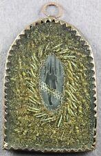 Klosterarbeit schwarze Anna Hand Wachs bossiert datiert 1793