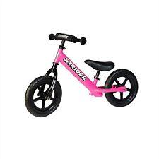 Strider 12 Sport Kids Balance Bike - Pink