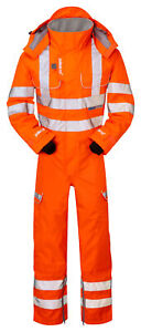 Pulsar PR505 Rail Specification Foul Weather Coverall 2XL