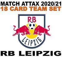 Match Attax Champions League 2020/21 RB LEIPZIG 18 card team set