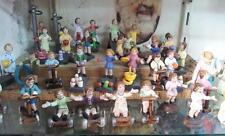 4 bambini x pastori fini TERRACOTTA 10 cm pastore nativity scene shepherds crib