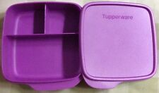 Tupperware  Divided Dish with Lid /FunMeal Lunch -New-Free Shipping
