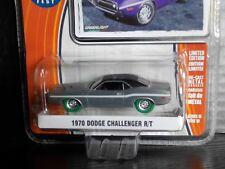 Greenlight 1970 Dodge Challenger RT Raw 1 of 48 Super Green Machine 1/64 Diecast