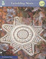 Aloha Doily ~ Ruffled Star Flower Elegant Ruffles crochet pattern leaflet