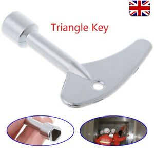 Key Wrench Triangle Plumber for Electric Cabinet Train Elevator Emergency Lift