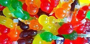 FULL BAG FRUIT JELLY TIK TOK FRUITY JELLIES CHALLENGE TREND 15pcs 300g Sweets