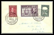 Gp Goldpath: Belgium Cover 1956 First Day Cover _Cv614_P18