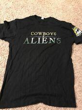 Cowboys Vs Aliens Movie San Diego Comic Con T Shirt Adult Medium Black