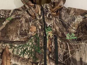 Realtree Edge Scent-Blocker Hunting Camo Coat Jacket Youth 2XL (Adult S/M)