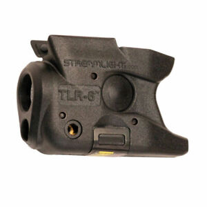 Streamlight, TLR-6, For S&W M&P Shield 9 & 40, White LED & Red Laser combo
