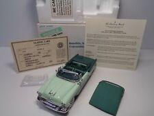 Danbury Mint Rare 1955 Oldsmobile Super 88 Convertible Bnib W/Docs & Tops Sharp