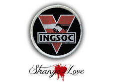 INGSOC Heat Seal Patch - Iron on Patch for jackets, shirts, hats & tote bags