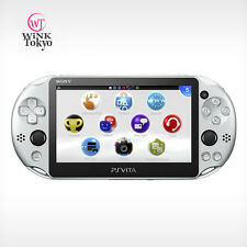 Sony Playstation PS Vita PCH-2000ZA25 Wi-Fi Model Sliver Console Japan Version