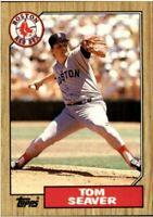 1987 Topps Tom Seaver #425 Lot of 100 Mint cards