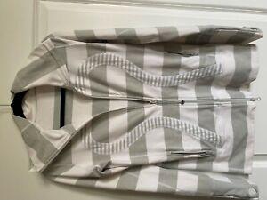 Lululemon Jacket Gray/White (Medium)