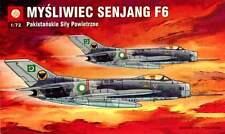SHENYANG F-6 (MiG 19)  PAKISTANI AF MARKINGS 1/72 PLASTYK RARE!