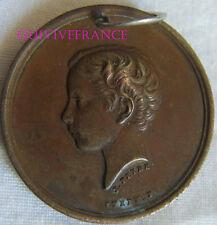 MED5709 - MEDAILLE PRINCE IMPERIAL - PRETS DE L'ENFANCE AU TRAVAIL 1862