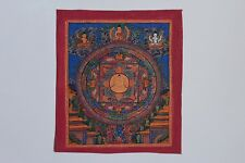An Antique Hand Painted Thanka Framed Painting