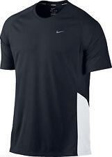 Nike Miler UV Running Training SS Tee T-shirt camiseta entrenamiento Talla L