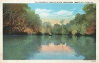 Postcard Headwater of Suwanee River Waycross Georgia