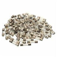100 piezas 5x20mm conjunto de surtido de fusible de cristal de tubo de golp I4I6