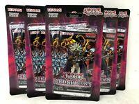 Yugioh Legendary Duelists Rage of Ra Blister Packs 1st Edition (5)
