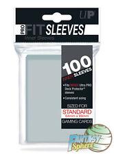 Pokémon Magic 100 Protèges Cartes/Sleeves STANDARD PRO-FIT Ultra PRO Transparent