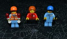 LEGO CITY THREE MINI FIGURES FOR AIRPORT LAYOUTS