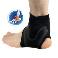 1pcs Adjustable Sports Compression Elastic Ankle Brace Support Protector Wrap