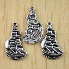 Mixed Set of 6 New PIRATE Charms Tibet Silver Alloy ONE OF EACH Free Shipping!
